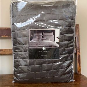 Hotel Collection King Coverlet Quilt Comforter